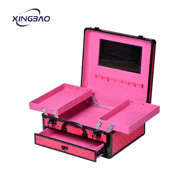 Beauty Hard Vanity Case Portable